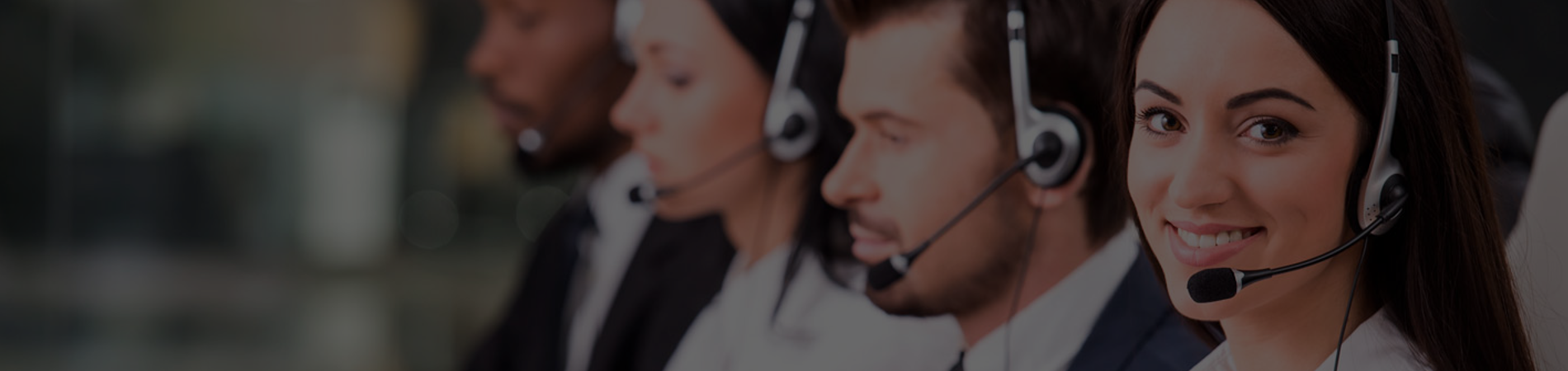 hosted call centre